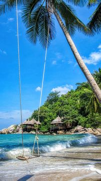 Tropisches Paradies von Fotojeanique .