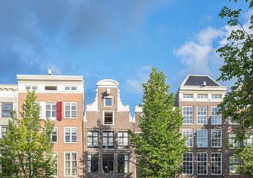 Amsterdam-traditionelle alte Gebäude