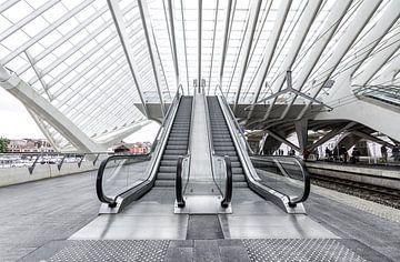Roltrappen Station Luik van