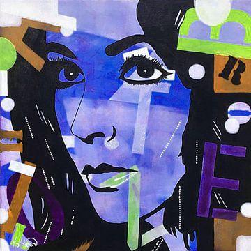 Elizabeth Taylor - Romanze von Kathleen Artist Fine Art