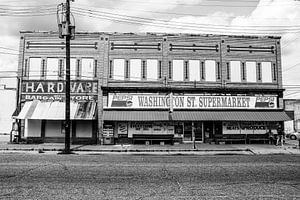 Straßenszene in Selma, Alabama von Weg van het Noorden