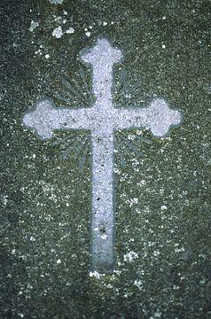 Kruis in beton van Marcel Römer