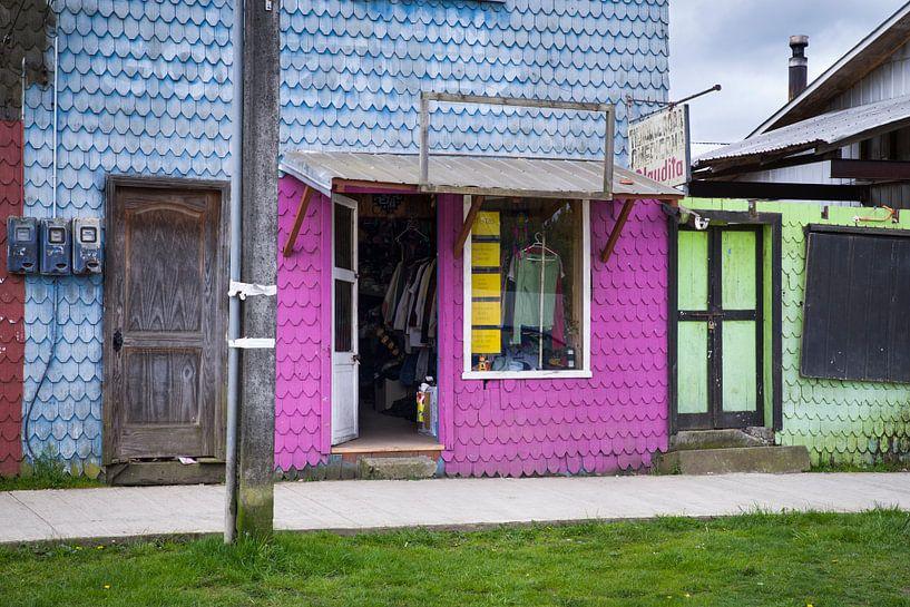 Los colores de Los Muermos - Chile van Eriks Photoshop by Erik Heuver