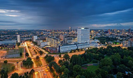 Erasmus MC vanaf de Euromast / Rotterdam