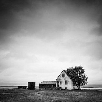 Isländische Farm von Arnold van Wijk
