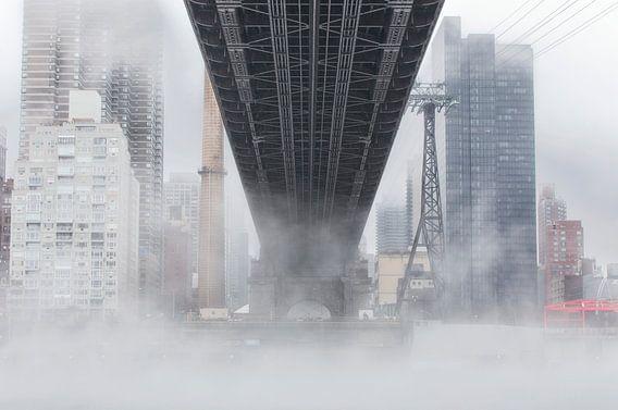 Manhattan - New York City (Queensboro Bridge) van Marcel Kerdijk