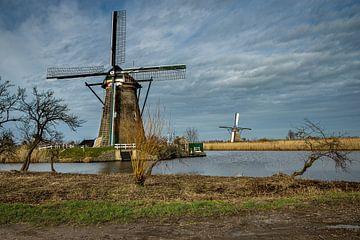 Mühle in Kinderdijk von Dokra Fotografie