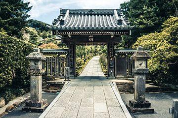 Tempel in Kamakura, Japan van Expeditie Aardbol