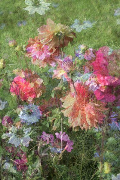 Zomerbloemen van Diana Mets