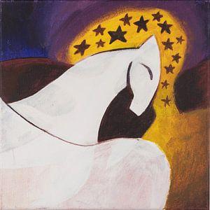 Mondpferd (2) von Ivonne Sommer