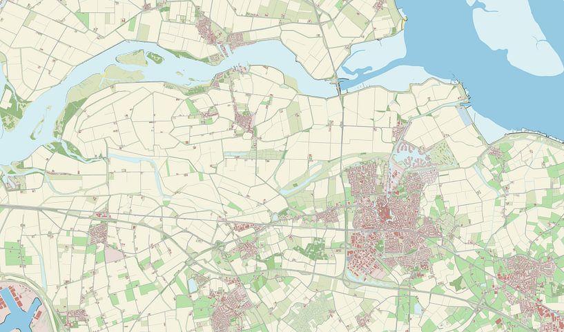Kaart vanGoes van Rebel Ontwerp