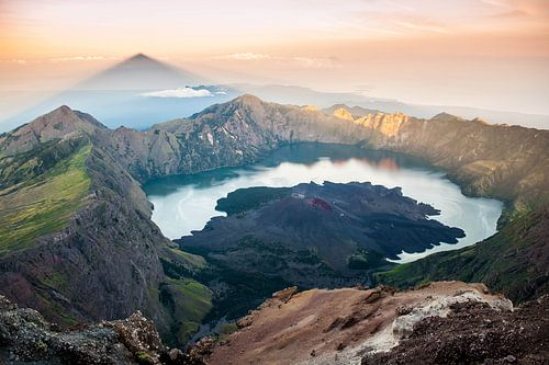 Rinjani vulkaan