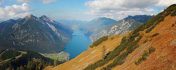 uitzicht op de Achensee, het Tiroolse landschap van Susanne Bauernfeind