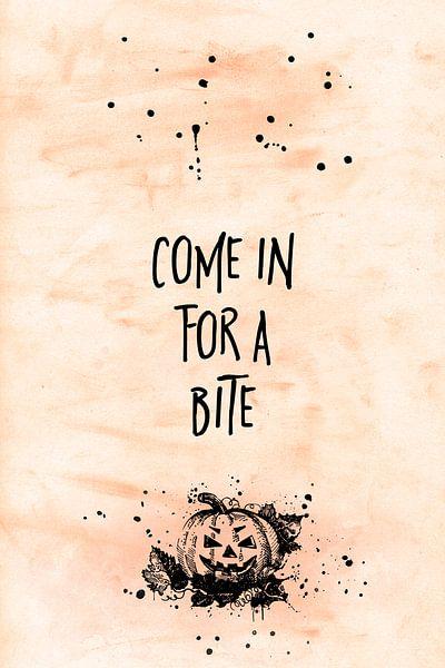 Halloween COME IN FOR A BITE van Melanie Viola