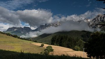 berggezicht picos de europa van t.a.m. postma