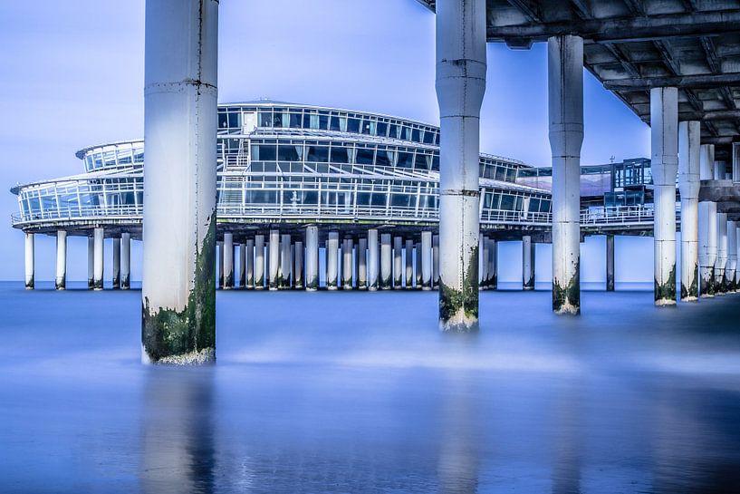 Pier in Scheveningen van Ed Vink