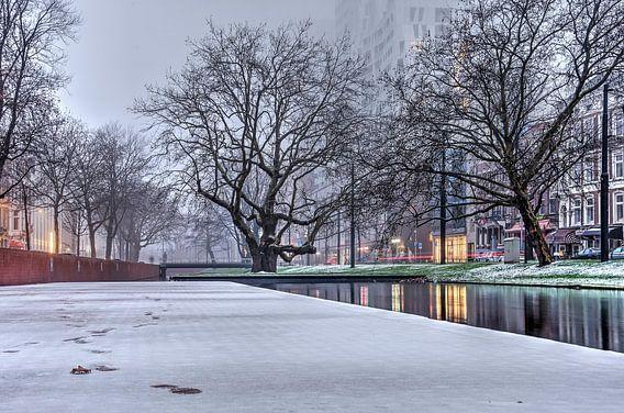Winter bij de Westersingel