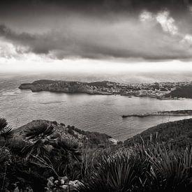 Schwarzweiss-Fotografie: Mallorca - Cala Ratjada von Alexander Voss