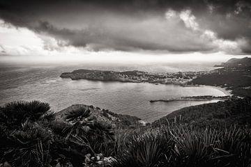 Zwart-wit fotografie: Mallorca - Cala Ratjada van Alexander Voss