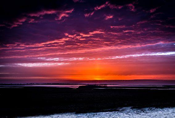 Sunset Noord Groningen
