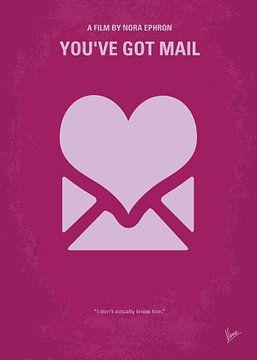 No107 My Youve Got Mail minimal movie poster van Chungkong Art