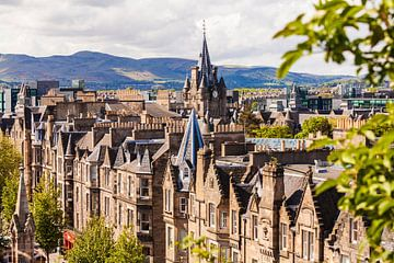 Altstadt von Edinburgh von Werner Dieterich