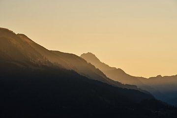 Sonnenuntergang in Oberstdorf van