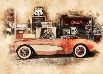Route 66 von Peter Roder