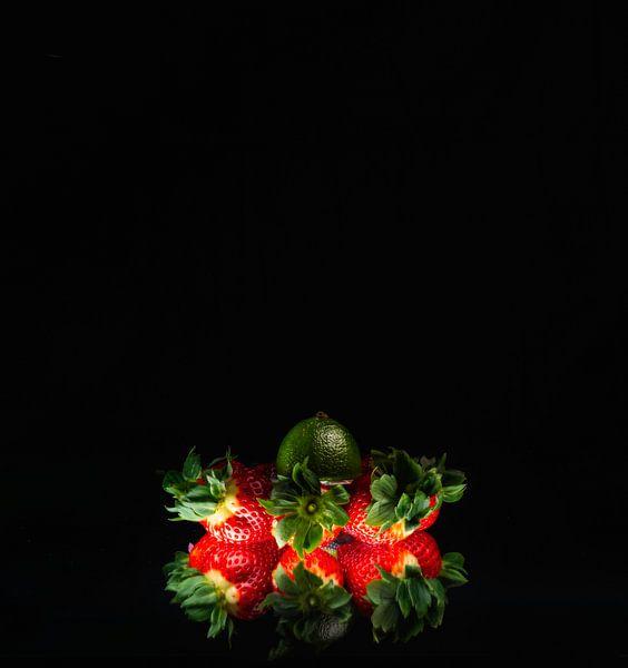 Aardbeien van Theo Urbach