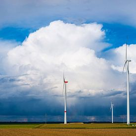 Wind farm van Walter G. Allgöwer