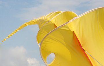 Gele vlieger van Jan Mulder