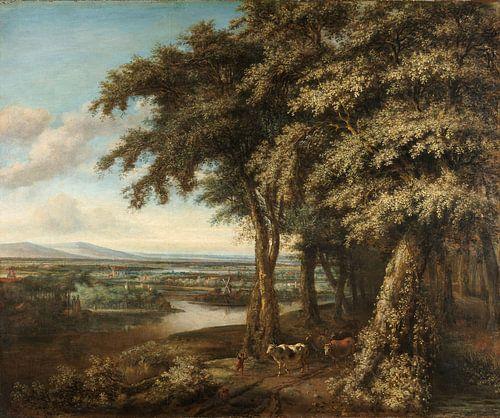 Philips Koninck, De ingang tot het bos von Meesterlijcke Meesters