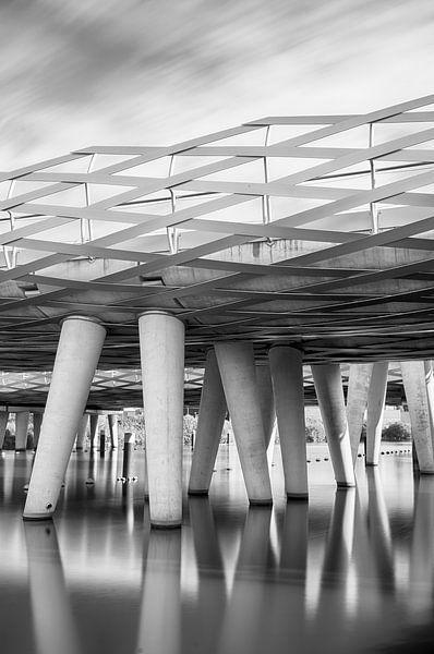 Architectonische brug van Mark Bolijn