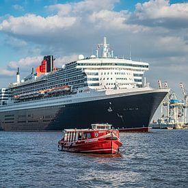 HAMBURG Queen Mary 2, Cunard line von Joachim Fischer