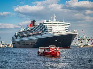 Le Queen Mary 2 sur Joachim Fischer
