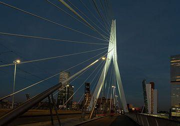 Erasmusbrug Rotterdam met skyline sur Brian Morgan