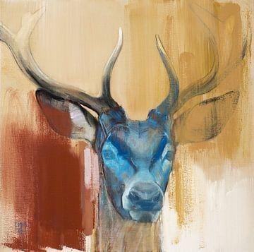 Junger Hirsch von Mark Adlington