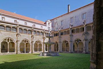 Coimbra: der Kreuzgang der Igreja de Santa Cruz von Berthold Werner