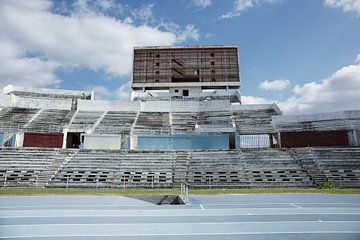 Das Estadio Panamericano (Stade Panaméricain de La Havane) ist ein multifunktionales Stadion in der  von Tjeerd Kruse