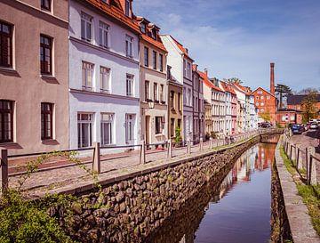 Altstadt von Wismar in Mecklenburg-Vorpommern von Animaflora PicsStock