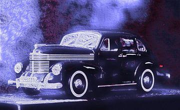 Opel Kapitän van Jean-Louis Glineur alias DeVerviers