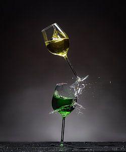 Shattered Glass - Geel op Groen