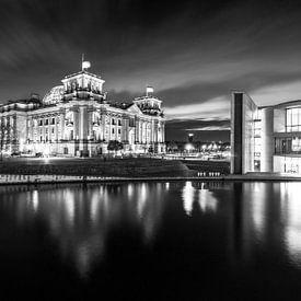 Reichstagsgebäude Berlin von Frank Herrmann