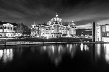 Le bâtiment du Reichstag à Berlin