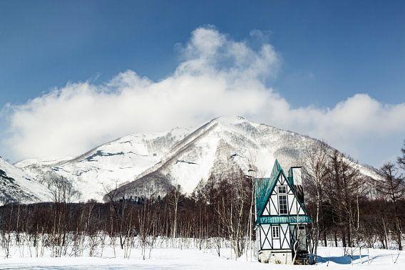 Japans Huisje in de bergen