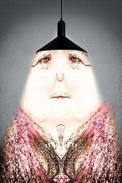 Fantasie Lampenvrouwtje van Gonnie van Hove