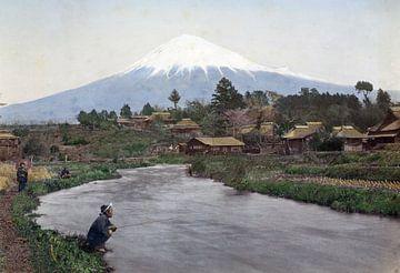 Berg Fuji, Kusakabe Kimbei, 1890-1894