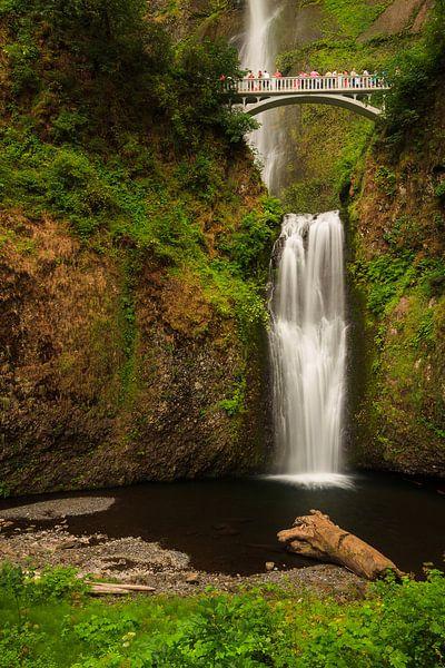 Multnomah watervallen in de Columbia river gorge sur Marcel Tuit