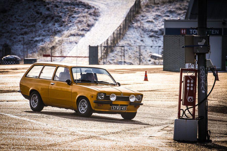 Opel Kadett van Leon Weggelaar