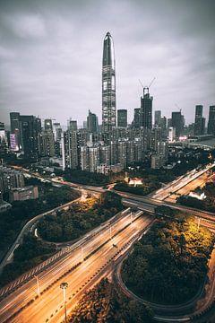 Shenzhen Skyline von Flave_de